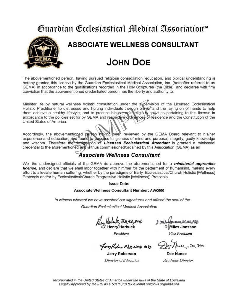 Holistic Health Practitioner License - Licensed Natural